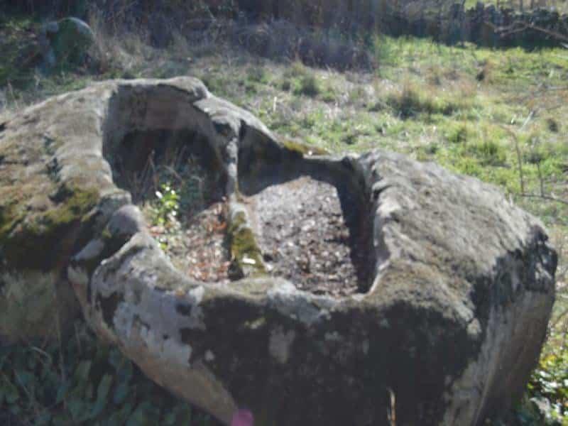 Tumbas celtas en Casas del Monte