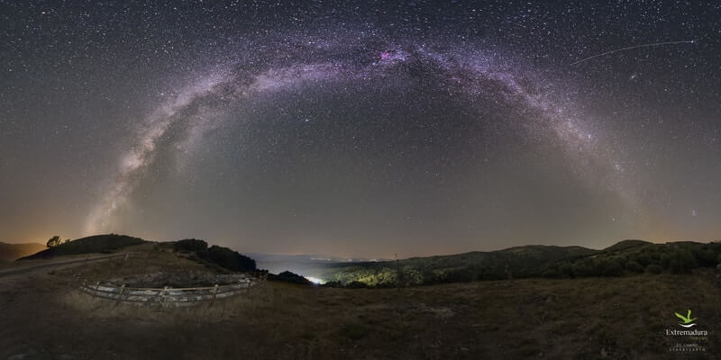 Turismo astronómico en el Valle del Ambroz